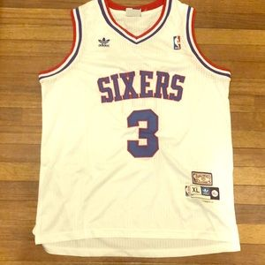 """Sixers  """"Iverson"""" Throwback"""